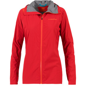 La Sportiva Run Chaqueta Mujer, garnet